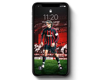 Paolo Maldini x AC Milan | Wallpaper