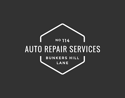 Auto Repair Services - branding & responsive web design