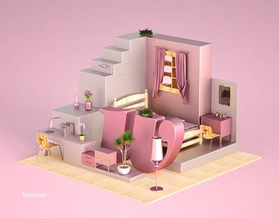 C4D Octane 3d 三维建模 家居 household