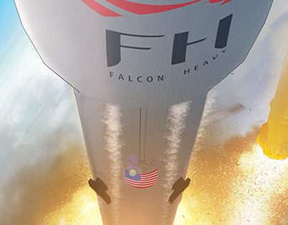 SpaceX Falcon Heavy Pin-Up