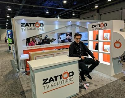 Zattoo Messestand Las Vegas