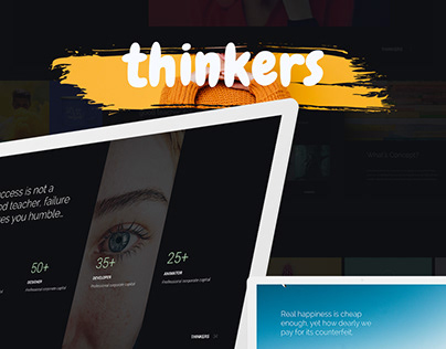 THINKERS.