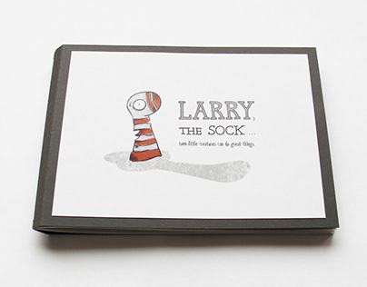 Larry, the sock