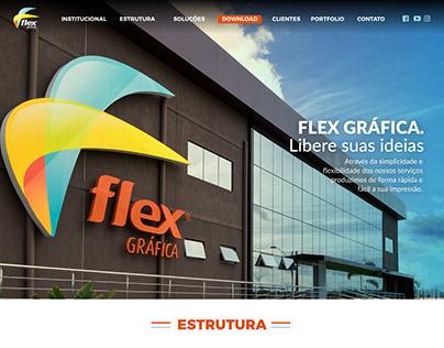 Flex Gráfica - Website