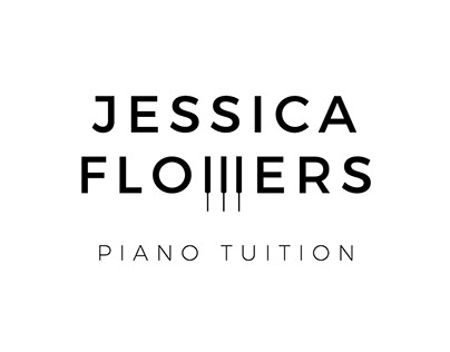 Jessica Flowers Piano Tuition Branding