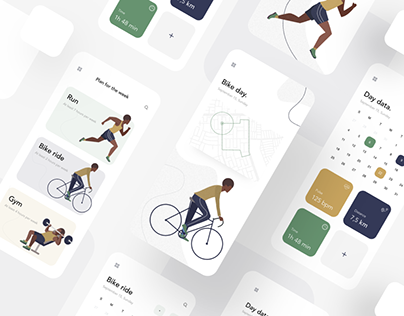 UI/UX Design app collection vol 1