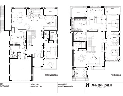 RESIDENTIAL VILLA TECHNICAL INTERIOR PACKAGE