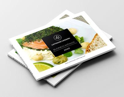 Katalog für Lofthouse Catering (2020)