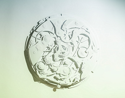 Clock engine / Papercut