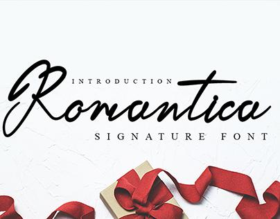 Romantica Font | Best Beautiful Calligraphy Font