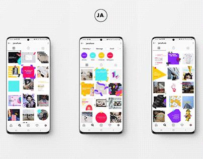 JA. Holistic Brand Management Instagram