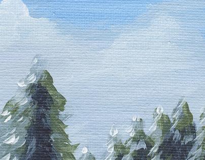 Acrylic Landscapes