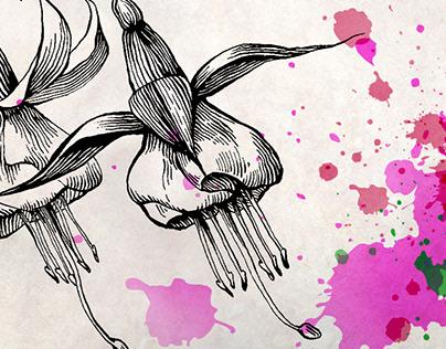 Серия открыток «Цветы»