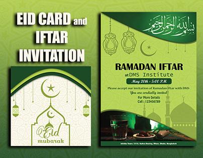 EID CARD & IFTAR INVITATION