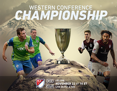 MLS CONFERENCE FINALS ANIMATED POSTERS