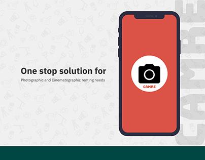 Camre-Ios Presentation Camera Rental App