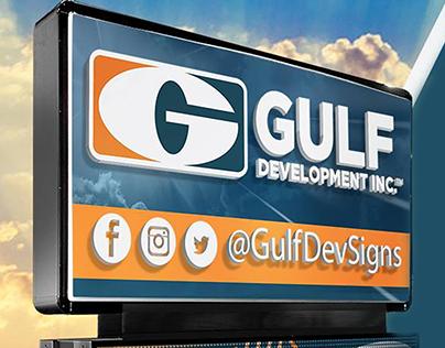 Gulf Development Sign Designs