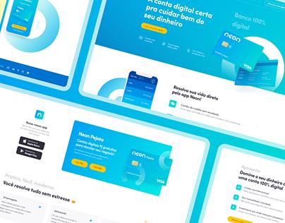 Redesign Banco Neon