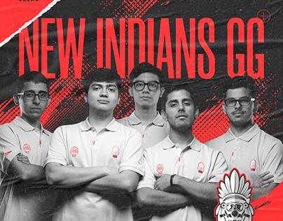 INTEL NEW INDIANS ESPORTS / 2020