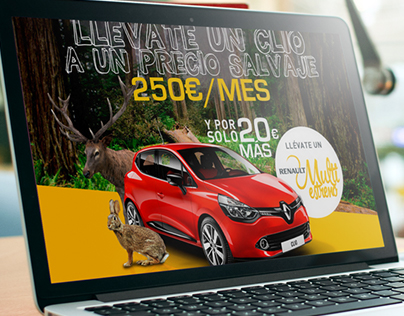 Renault LandingPage