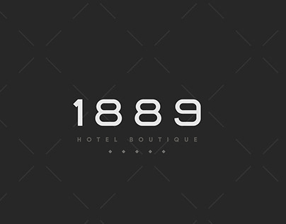 1889 Hotel Boutique - Branding