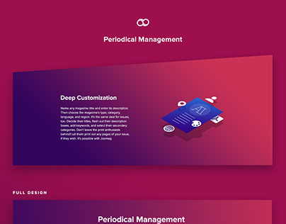 Joomag Periodical Management page