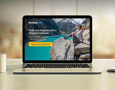 Design de Interface - Booking.com