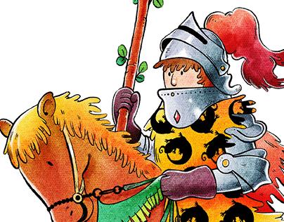Tarot Card Illustration - Minor Arcana [Wands]