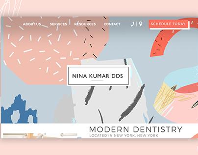 Kumar Dentistry Website
