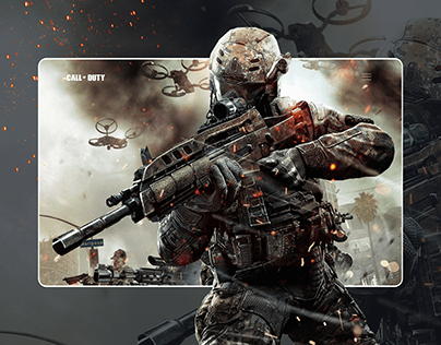 Call Of Duty Warzone Web design UI/UX