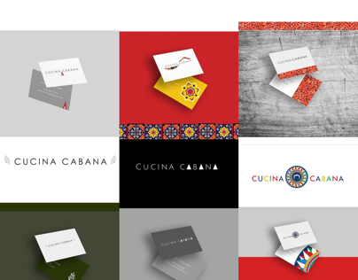 Cucina Cabana Concepts. Logos, Branding.