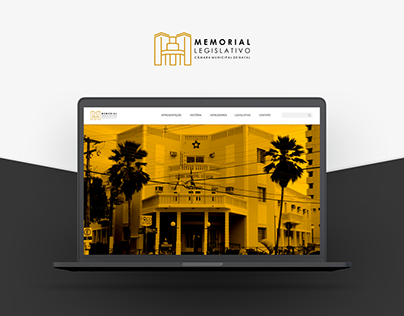 Memorial Legislativo de Natal - Website & Mobile
