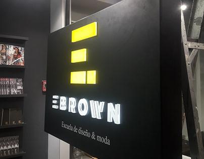 Ebrown Backlight Sign