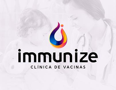 Portfólio Digital - Clínica Immunize