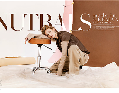 """Nutrals made in Germany"" for 7 Hues Mag"