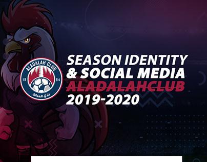 Social Media Identity - Aladalah club 2019-2020