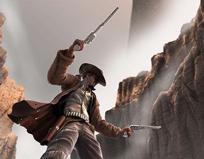 The Gunslinger and the Dark Tower