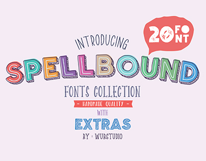Spellbound Font Collections