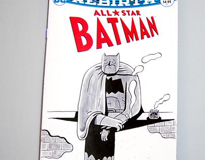 All Star Batman blank cover.