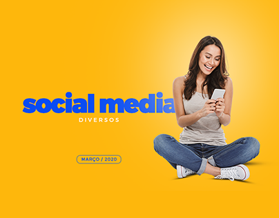 SOCIAL MEDIA - DIVERSOS - MARÇO 2020