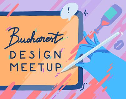 Illustration for Bucharest Design Meetup