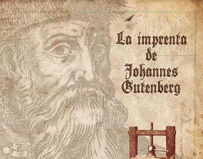 La imprenta de Johanes Gutenberg