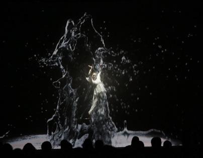 Erikli /Opening show/Mappingdance