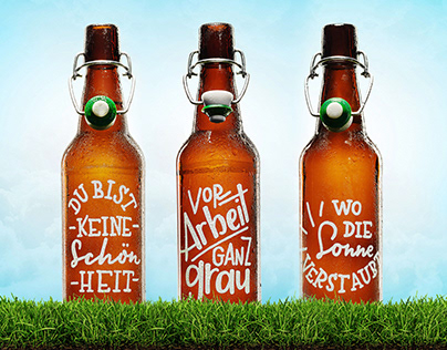 Heimatflasche - personal project