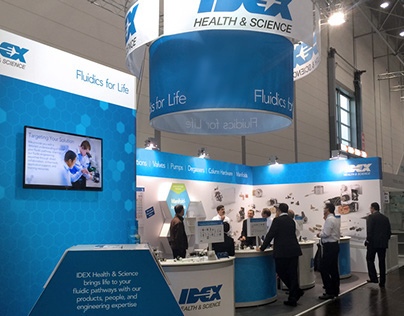 IDEX Health & Science Tradeshow Booths