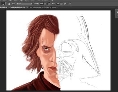 Unfinished Artwork (Anakin-Darth Vader)