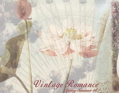 VINTAGE ROMANCE SPRING SUMMER'16  WOMEN'S FASHION WEAR