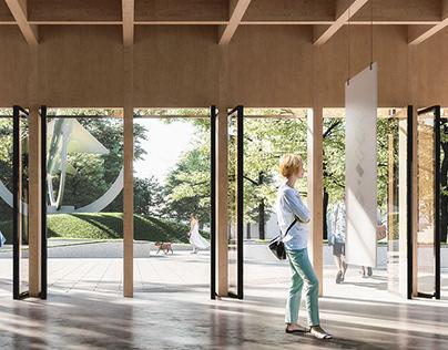 Pavilion for public discussions
