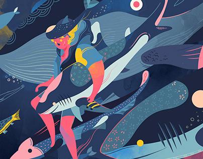 Editorial Illustration for Magazine