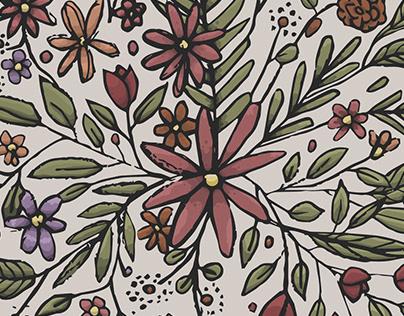 Floral Illustration Series